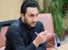 رضا خادم الحسینی جوان هنرمند و ورزشکار البرزی