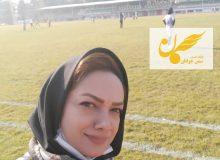 پریسا پیرهادی مهندس جوان و گزارشگر البرزی