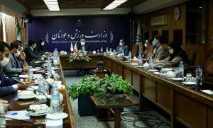 دیدار منتخبین جدید هیات مدیره مجمع ملی جوانان با معاونت امور جوانان