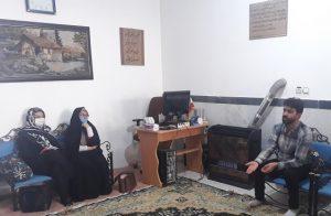 دیدار سمن های نظرآباد با دبیر ستاد امر به معروف البرز