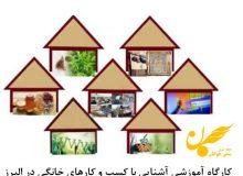 آشنایی با کسب و کارهای خانگی در استان البرز