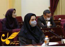 سخنرانی سخنگوی مجمع ملی سازمانهای مردمنهاد جوانان در برابر وزیر